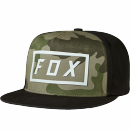Fox Kappe Fumed Snapback black/green  One Size Abverkauf...